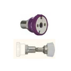 Coupler, Compact Ohmeda Check Style, DISS Female Hand Tight, WAGD