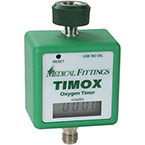 Oxygen Timer, Timox, Automatic, Time Increments of 0.1 Hours, Hand Tight Knob