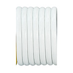 Vacuum Hose, Non-Conductive, 1/4 in. ID, White, 1 ft