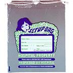 Set-Up Bag, Mini, Drawstring, Respiratory Care, Printed, 8 x 10-in