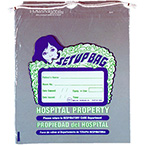 Set-Up Bag, Vented, Drawstring, Respiratory Care, Printed, 11.75 x 15-in