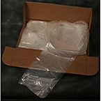 O2 Concentrator Cover, Clear, Boxed, 20 x 18 26-in