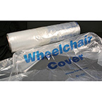 Cover Bag, Wheelchair, Standard Size, Roll, Clear