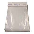 Plastic Bag, Handi-Pak, Cardboard Header, Heat Sealable, Polyethylene, 2 mil, 20 x 30-in