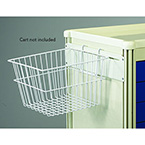 Basket, Wire, Medical Cart Accessories, 12 in. x 12 in. x 8 in.