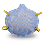 Particulate Respirator, N95, Healthcare, Surgical Mask, Foam Nose Cushion, Elastic Straps, X-Small