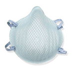 Mask, Particulate Respirator, Surgical, N95, Fluid Resistant, Molded Nosebridge, Medium/Large