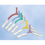 Endotracheal Tube Holder, NeoBar, Neonate, Adhesive Tabs, Micro, White