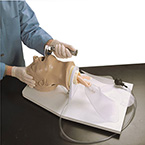 Airway Management Trainer, Life/form, Airway Larry, Adult, Stand, Spray Lubricant, Carrying Case