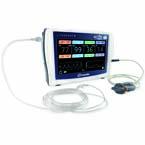LifeSense II Capnograph/Pulse Oximeter, Large Soft Reusable SpO2 Sensor (1 meter)