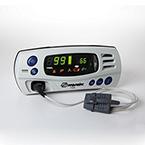 Pulse Oximeter, 7500, Tabletop, LED Display, 8000AA-3 Finger Sensor, Case, 8.6W x 3.6H x 5.6D-in
