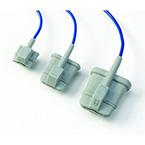 Pulse Oximeter Sensor, Soft, Finger, Large, 3-m Cable, Reusable