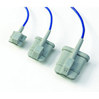 Pulse Oximeter Sensor, Soft, Finger, Small, 1-m Cable, Reusable