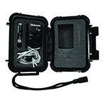 Carrying Case, Onyx 9500, Accessory, Crushproof, Watertight to 50 ft., Compartmentalized, Black