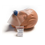 Protective Barrier, CPR, Revive-Aid, 1-Way Valve, Filter, Clear Faceshield, One Size Fits All