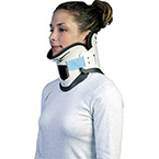 Collar, Extraction, Necloc, 2-Piece, Clamshell, Ergonomic, Single-Patient use, Small