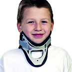 Collar, Extraction, Necloc, 2-Piece, Clamshell, Ergonomic, Single-Patient use, Pediatric, 6-12 years