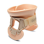 Collar, Cervical, Philadelphia, 2-Piece, Tracheotomy, Adjustable, Single Use, Adult, Sizes 2, 3, 4
