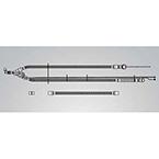 Volume Ventilator Circuit, Pediatric, Dual Heated Wire, No PEEP, Heated Inspiratory, Expiratory Limb