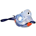 Aerosol Mask, Bubbles the Fish, Front-Load, Pediatric