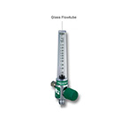 Flow Tube, for 4MFA Series Flowmeters, Glass, 0-1 LPM, Replacement