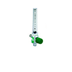 Oxygen Flowmeter, Low Flow, 0-200cc, No Adapter, 1/8 NPT Female