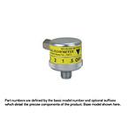 Air Flowmeter, Dial, 0-15 LPM, Chemetron Connector