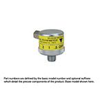 Air Flowmeter, Air, 0-15 LPM, Chemetron, Top Inlet