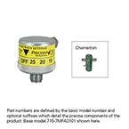 Air Flowmeter, Dial, Chemetron, Power Take-Off, 0-25 LPM