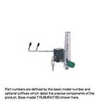 Eliminator, Adjustable Fixed Flow Barb, Puritan-Bennett Connector, Compact Flowmeter