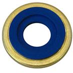 Yoke Seal, Washer, Brass Outer Ring, Neoprene, Pack of 25