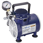Compressor, Air, EasyComp, 15 LPM Output, 1/5 HP Motor, AC Power, 10.8 lbs