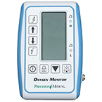 Oxygen Monitor, O2, Standard, 0.0 - 100% O2, 1.7L x 3.6W x 5.4H-inches, 10-ft Cable, 1.1 lbs