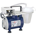 Suction Unit, Easy Vac Aspirator, Portable, Hospital Grade Cord, 800 cc Canister