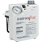 Aspirator Unit, EasyGoVac, Rechargeable Battery, Charger, 1.5 Hours, 800cc Canister, Carrying Bag