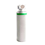 Laryngoscope Handle, Integrated Fiber Optic, Stubby, 2 AA Batteries