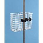 Utility Basket, 1-in Weave, Epoxy Finish, 10 L x 8 H x 4 W-in