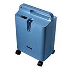 Oxygen Concentrator, EverFlo, Bottle Holder, Molded Handle, Internal Tubing Storage, 31 lbs