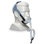 Nasal Mask, OptiLife, with Headgear and Chin Support Band, 3 Pillow Cushions, 2 Cradle Cushions