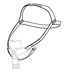 Headgear, for AP111 Nasal Interface, Replacement
