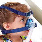 Nasal Mask, PN831, Pediatric, Patients Over 7 kg, Gel Cushion, Headgear, Circuit, Filter
