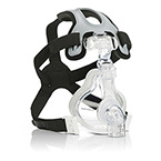 Mask, NIV, AF531, Standard Elbow, CapStrap Head Gear, Single-Patient Use, Full Face, Small