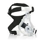 Mask, AF531, NIV, Leak 1 Entrainment Elbow, EE, 4-Point Headgear, Single Patient Use, Large