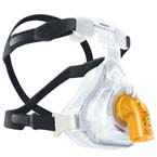 Face Mask, AF421, Extra Large, Full Face, Leak 1 Entrainment Elbow, 4-Point Headgear