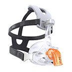 Face Mask, AF541, EE Leak 2 Elbow, CapStrap Headgear, Under the Nose, Size C