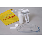Suction Device, Res-Q-Vac Pump, Hand-Held, Canister, Soft Yankauer, Catheters, Bag, Sealing Cap, Sterile