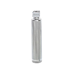 Laryngoscope Handle, Medium, Standard, Chrome Plated Brass, Uses 2 C Batteries