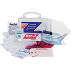 Universal Precaution Compliance Kit, with Hard Case