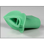 Mouthpiece, Comfit-R, Rubber, Reusable, Green