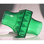 Bacteria/Viral Filter, BVF, Pulmoguard II, Meets ATS Standards, Transparent Green